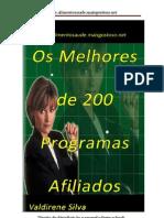 106836620 Programas Afiliados Selecao Dos Melhores Entre 200