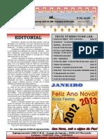 """Jornal """"Sê...""""Janeiro 2013"""