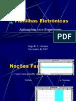 Introdução ao Uso de Planilhas Eletrônicas