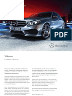 Preisliste Mercedes-Benz E-Klasse Limousine Mopf 2013