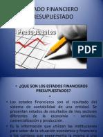 Estado Financiero Presupuestado