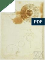 Dibujos de Leonardo Da Vinci