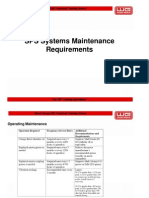 09 SPS System Maintenance Requirements
