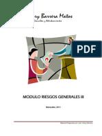 Modulo Riesgos Generales III