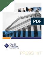 Gardi & Haught, Ltd. Press Kit