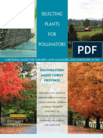 Plants for Pollinators Southeastern Mixed Forest Province a Regional Guide for Farmers Land Managers and Gardeners