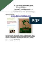 Cemento a Domicilio en Pereira y Dosquebradas