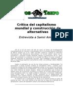 Amin Samir - Critica Del Capitalismo Mundial Y Construccion de Alternativas [Doc]