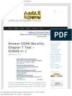 Answer CCNA Security Chapter 7 Test – CCNAS v1.1 _ Invisible Algorithm