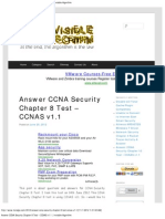 Answer CCNA Security Chapter 8 Test – CCNAS v1.1 _ Invisible Algorithm