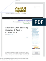 Answer CCNA Security Chapter 9 Test – CCNAS v1.1 _ Invisible Algorithm