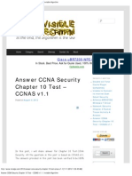 Answer CCNA Security Chapter 10 Test – CCNAS v1.1 _ Invisible Algorithm