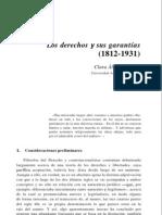 Los derechos y sus garantías (Clara Álvarez)