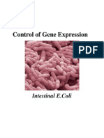 control of gene expression in bacteria 2013