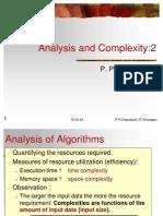 C analysis