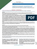 Sobrevida y factores asociados en los pacientes con trasplante renal vs pacientes en modalidad de hemodiálisis y diálisis peritoneal