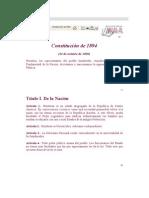 7.Constitucion 1894