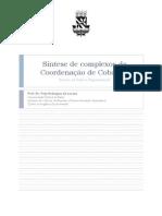 Síntese de complexos de Coordenação de Cobalto  - Cloreto de hexaaminocobalto (III), [Co(NH3)6]Cl3