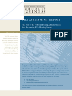 FHA assessment report