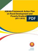 ASEAN Framework Action Plan on Rural Development and Poverty Eradication (2011-2015)
