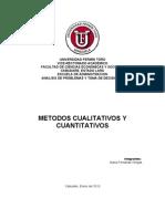 Metodos Cualitativos y Cuantitativos de Maria Fernanda Villegas