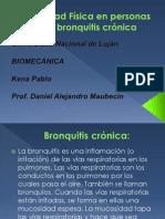 Actividad F+¡sica en personas con bronquitis cr+¦nica