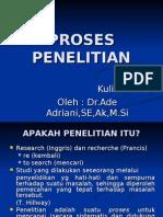 OHP Kuliah 2-Proses Penelitian