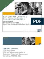 SAP CRM for Utilities Telco Belgrade