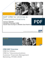 SAP CRM for Utilities Telco Belgrade