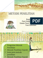 METODE PENELITIAN -