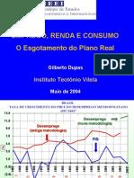 Emprego, Renda e Consumo