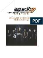 RHAPSODY OF FIRE (The Dark Secret Saga) En Español