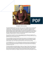 Biographical Interview With Ngaktrin Tulku-- Tsewang Dechen Rinpoche