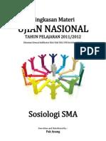 Rangkuman Materi UN Sosiologi SMA 2012