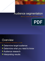 Audience Segmentation