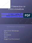 Five Dimensions to Professionalism (1)