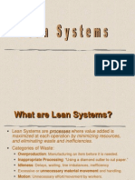 11 Lean Systems