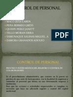 Control de Personal Exposicion Aurelio