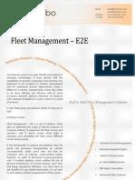 Fleet Management – E2E