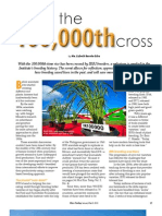 RT Vol. 12, No. 1 Upon the 100,000th cross