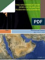 Setting Masyarakat Arab