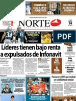 Periodico Norte de Ciudad Juárez 14 de Enero de 2013