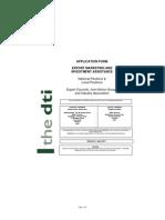 Export Councilsof National Pavilions Application Form Apr