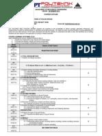 Course Outline JF609-December 2012