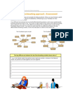 Develop the Benchmarking Approach Assessment