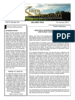 RCBKS Bulletin Vol 21 No 24