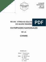 Olympiades nationales de la chimie - annales vol. 1