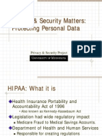 HIPAA Privacy Security Presentation for ISCA