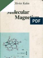 Olivier Kahn Molecular Magnetism