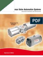Automax Valve Automation Systems - Pneumatic Actuators and Accessories - Flowserve